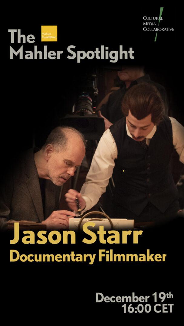 Mahler Spotlight - Jason Starr 9x16